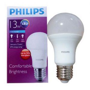 Bóng đèn Lebbulb 13W E27 6500K/3000K 230V A60 Philips