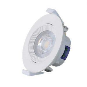Đèn Led âm trần D AT02L XG 76/6.5W xoay góc Rạng đông