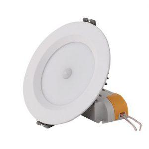Đèn Led âm trần cảm biến D AT04L 110/9W PIR Rạng đông