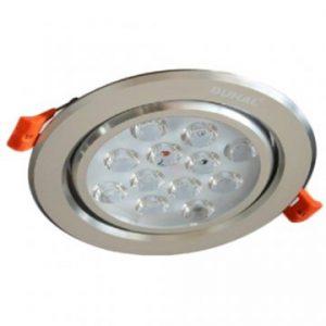 Đèn Led âm trần chiếu điểm 12W DFA212 Duhal
