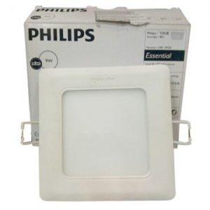 Đèn Led âm trần vuông 18W Marcasite 59524 Philips