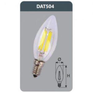 Đèn Led bulb 4W DAT504 Duhal