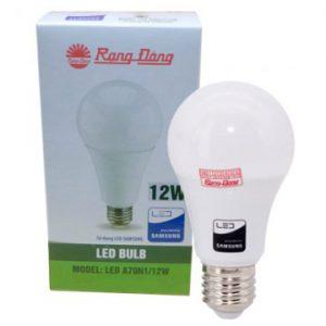 Đèn led bulb 12W A70N1 E27 Rạng Đông